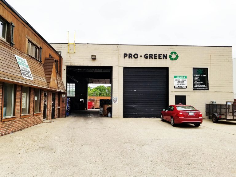 Pro-Green Scrap Metal Recycling in Redford and Detroit, Michigan