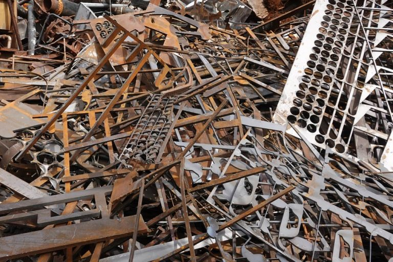 Roll-off Containers at Pro-Green Scrap Metal Recycling, Ferrous Metals