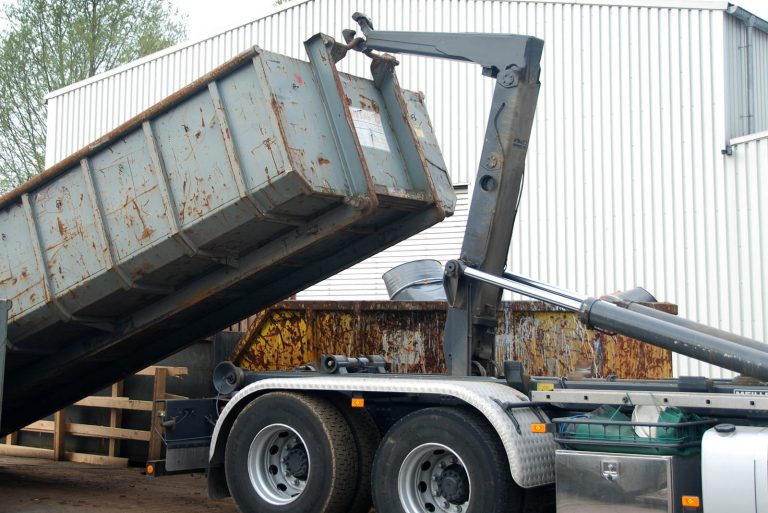 Roll-off Containers at Pro-Green Scrap Metal Recycling